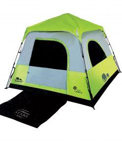 אוהל משפחתי ל-4 RAPID CABIN • אוהל קמפינג של גו נייצ'ר