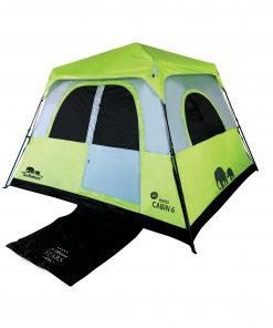 אוהל משפחתי ל-6 RAPID CABIN • אוהל קמפינג של גו נייצ'ר