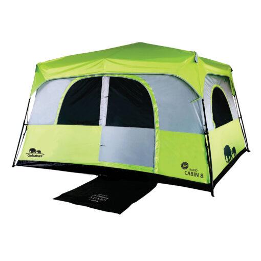 אוהל קמפינג ל-8 RAPID CABIN UPF5)