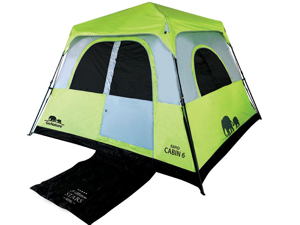 אוהלי Rapid Cabin של GoNature