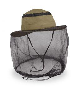 כובע רחב שוליים עם רשת נגד חרקים Bug Free Cruiser Hat