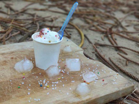 גלידה בשטח