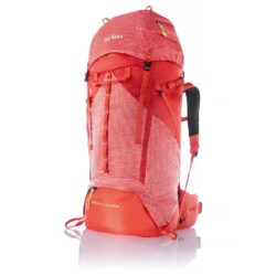 1337 - YUKON 50+10 ULTRA LIGHT RECCO תרמיל מסעות נשים אדום